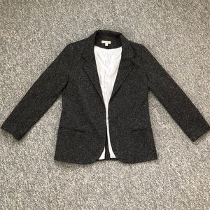 UO Silence + Noise grey open front blazer Small S